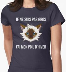 Je ne suis pas gros... (SLG Webshow) Women's Fitted T-Shirt