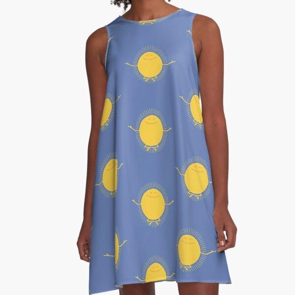 Sun Worshipper A-Line Dress