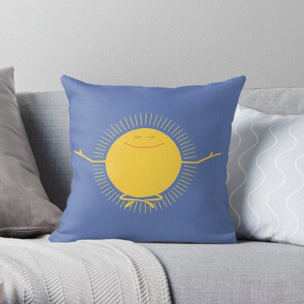 Sun Worshipper Throw Pillow