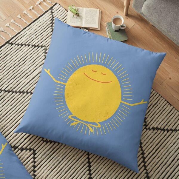 Sun Worshipper Floor Pillow