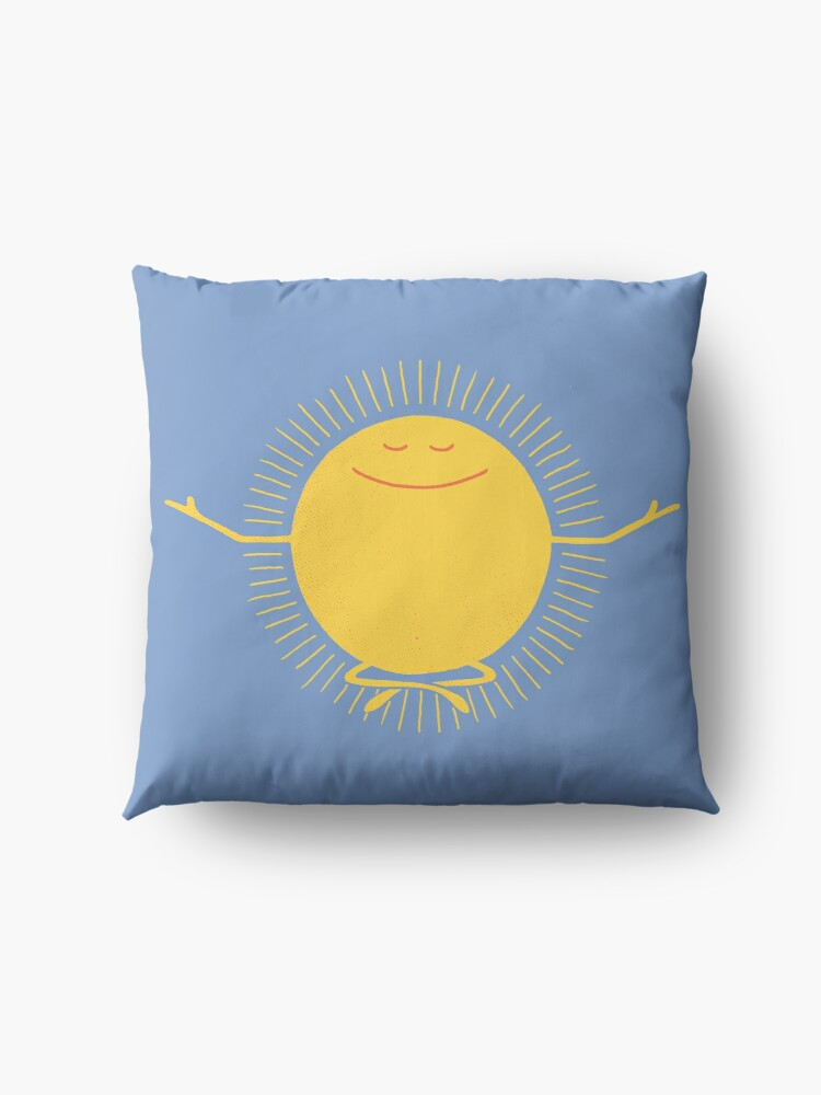 Alternate view of Sun Worshipper Floor Pillow