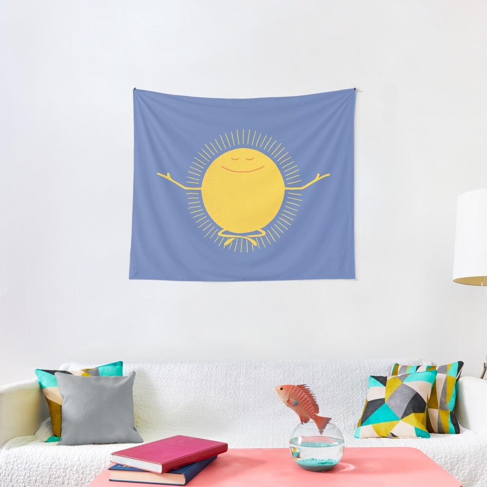Sun Worshipper Tapestry