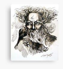 """Thor"" Metal Print"