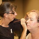 0474 Putting on Make-Up by DavidsArt