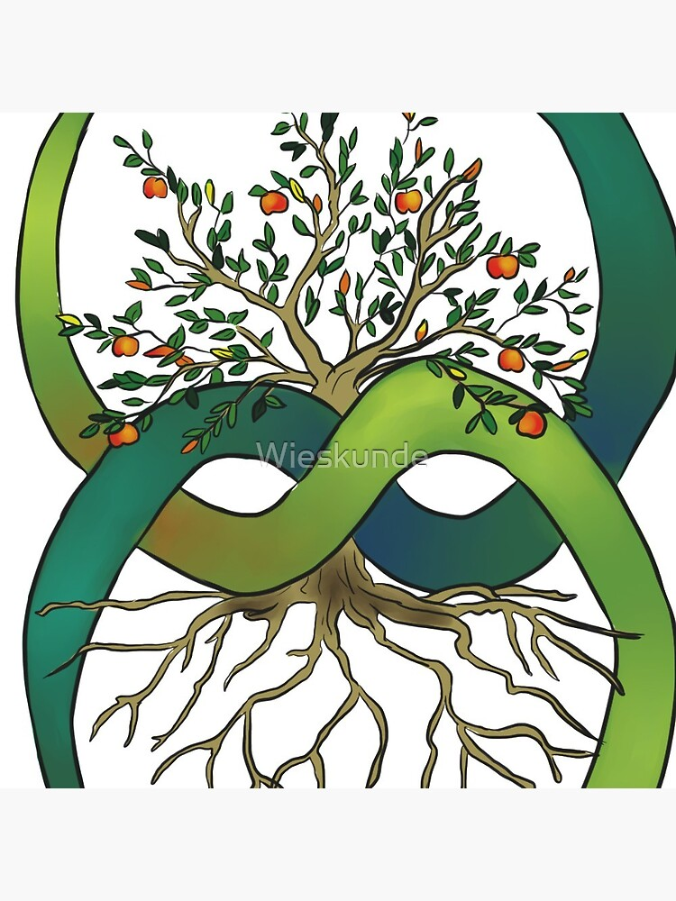 Ouroboros Tree of Life by Wieskunde