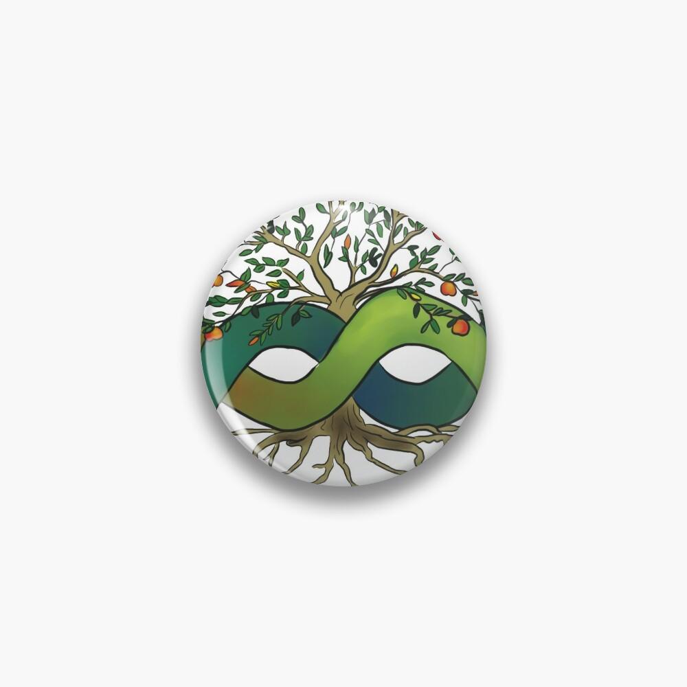 Ouroboros Tree of Life Pin