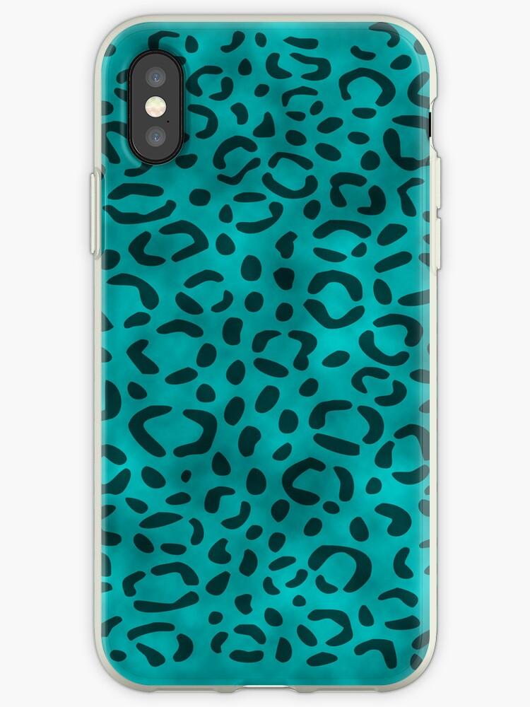 Blue Leopard Print by Rewards4life