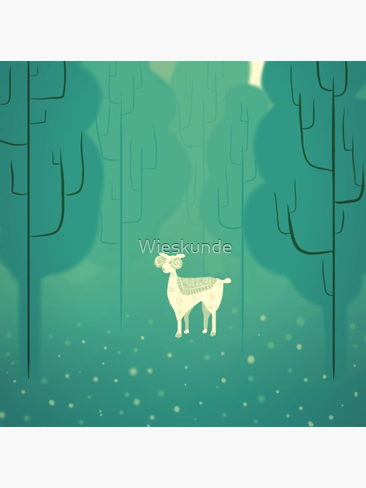 Goat forest by Wieskunde
