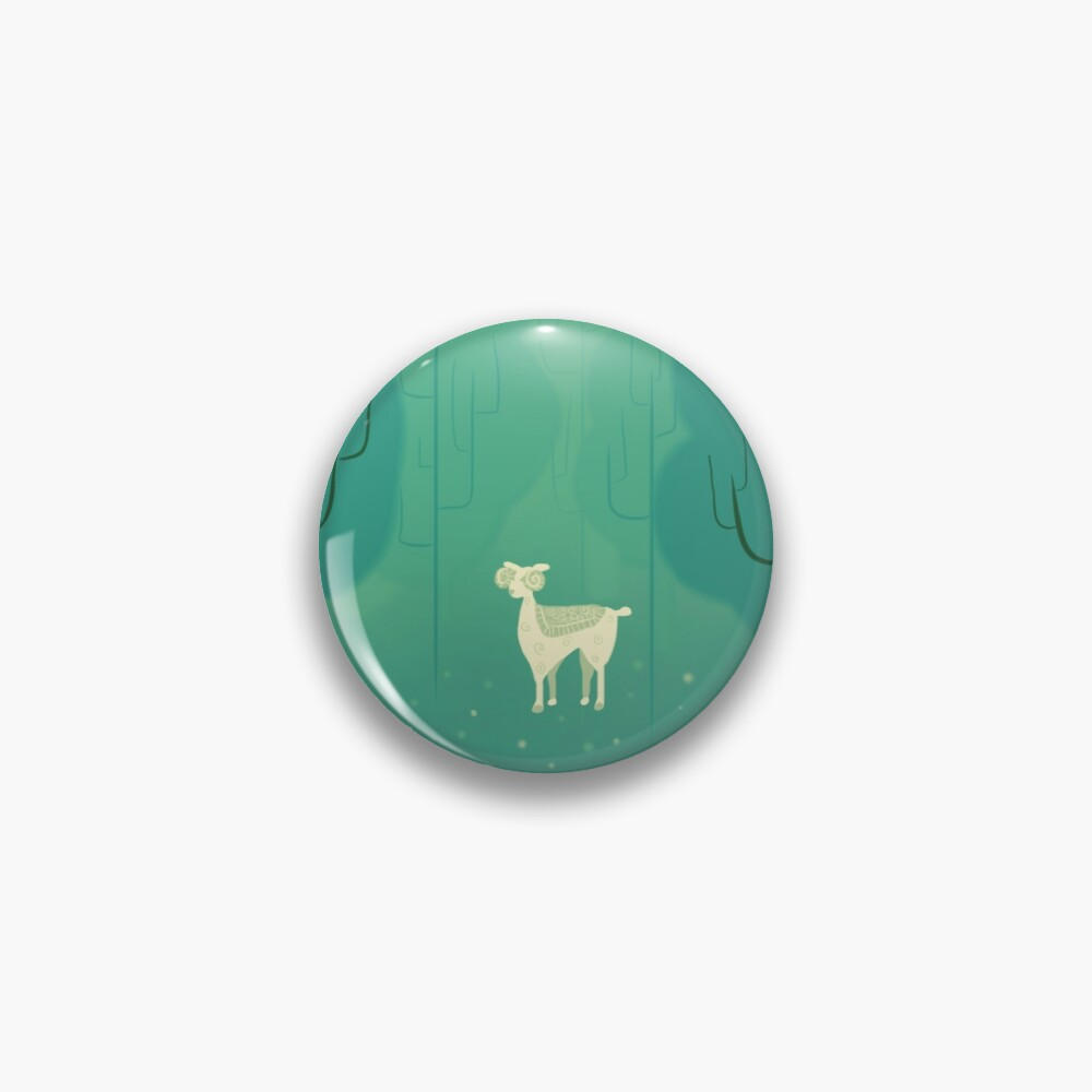 Goat forest Pin