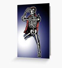 Marty Mcfly BTTF zombiecraig. Greeting Card