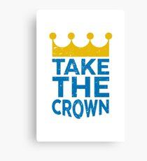 Take the Crown Canvas Print