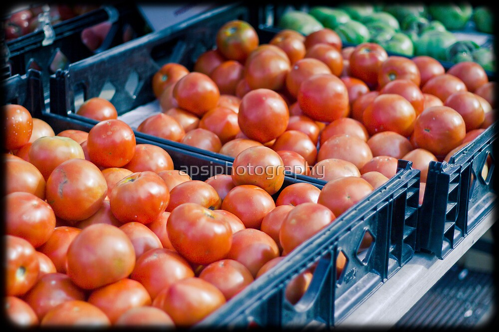 Tomatoes by apsjphotography