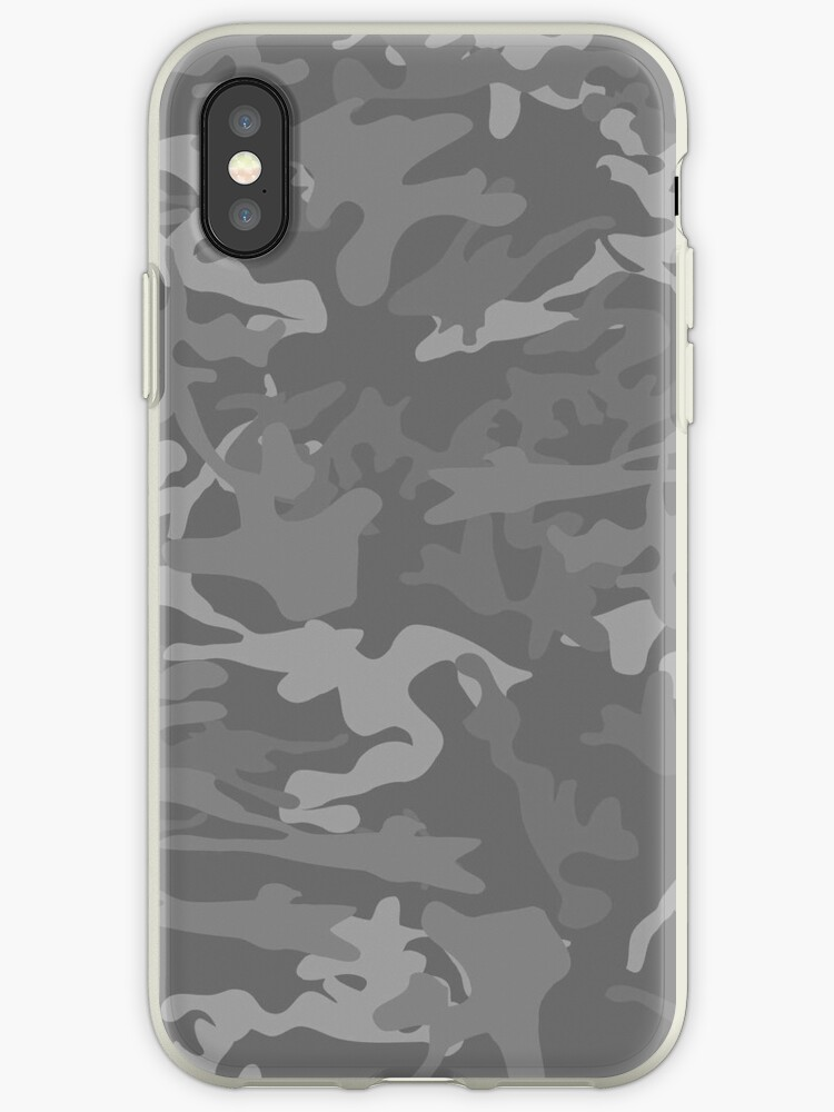 Grey Camouflage by Nick Martin