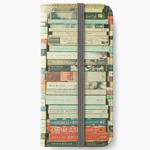 Bookworm iPhone Wallet