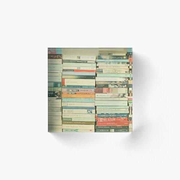 Bookworm Acrylic Block