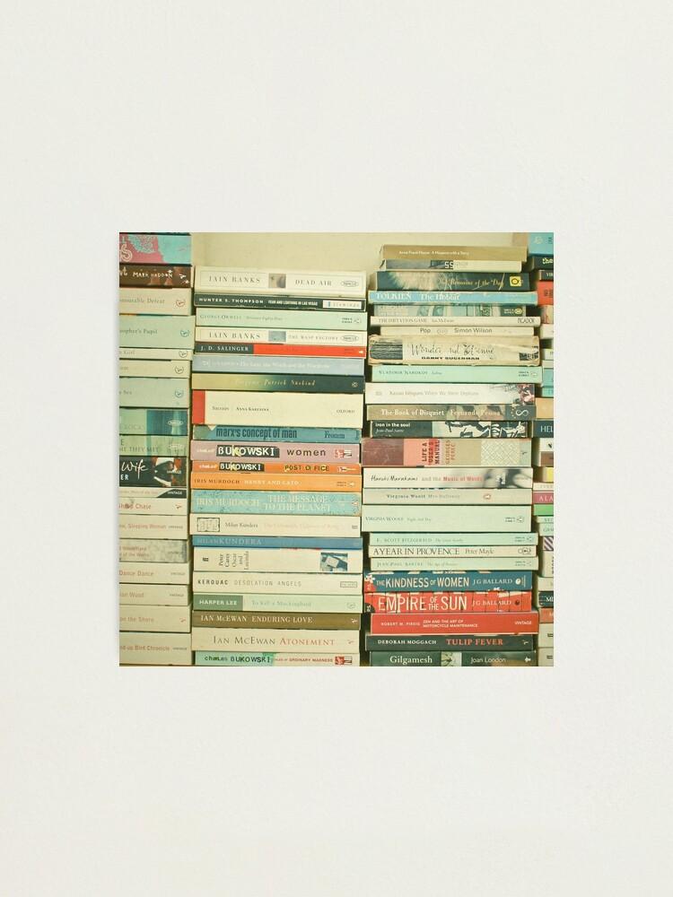 Alternate view of Bookworm Photographic Print