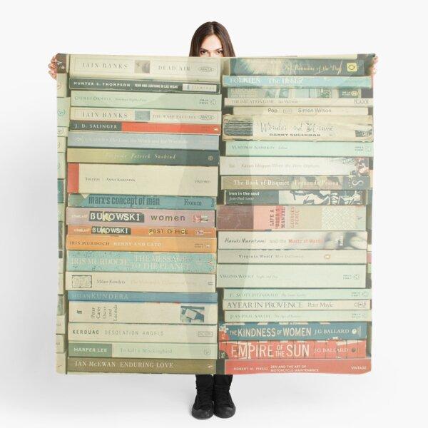 Bücherwurm Tuch