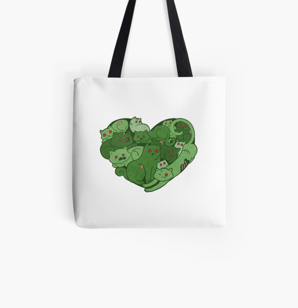 Love Bites All Over Print Tote Bag