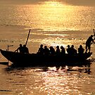 Dawn on the Ganges by EUNAN SWEENEY