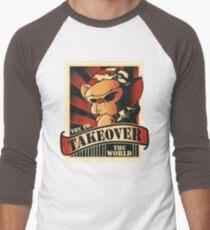 Take over the world Men's Baseball ¾ T-Shirt