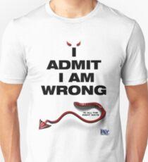 Little Devil - I Admit I Am Wrong T-Shirt