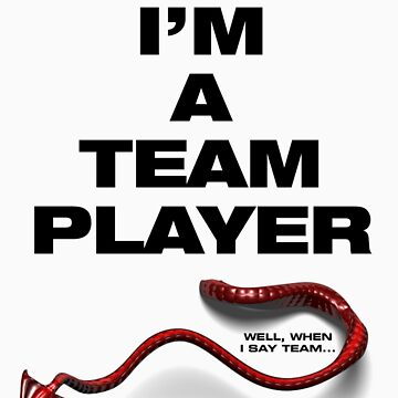 Little Devil - I'm a team player by electricfly