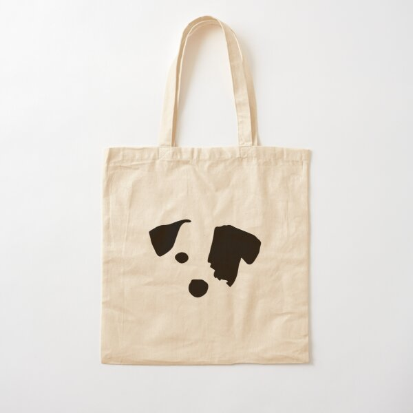 Canvas Shopping Tote Bag Beware of The Dog He Loves Cuddles B Dog Beach Bags for Women