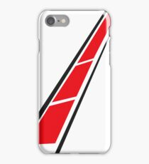 YAMAHA (Red on White) iPhone Case/Skin
