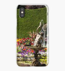 Italian Courtyard, Butchart Gardens iPhone Case/Skin