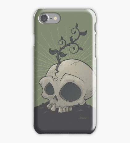 Skull Garden iPhone Case iPhone Case/Skin