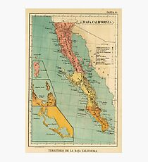 California Map Wall Art Redbubble