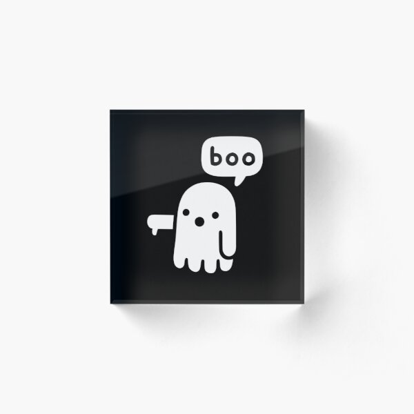 Ghost Of Disapproval Acrylic Block