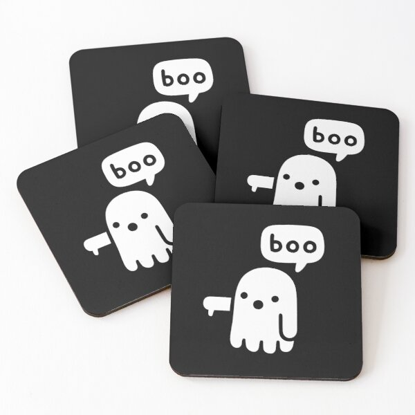 Ghost Of Disapproval Coasters (Set of 4)