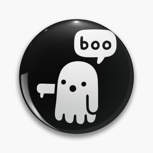 Ghost Of Disapproval Pin
