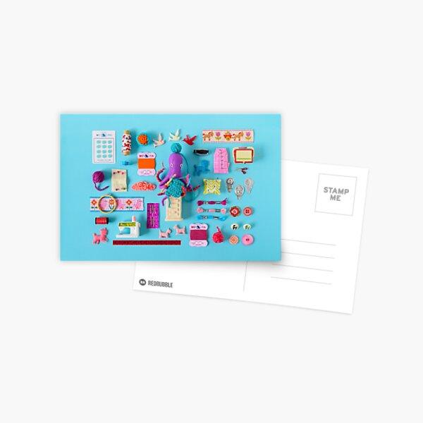 Playful Crafting Postcard