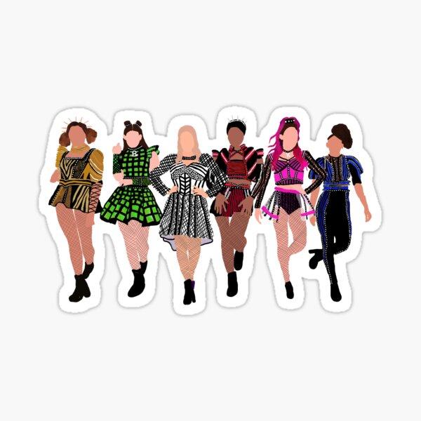 six west end queens Sticker