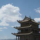 Jiayuguan pass by Shai Biran