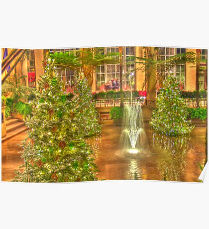 Christmas at Longwood Gardens Poster