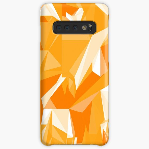 Net of yellow triangles Samsung Galaxy Snap Case