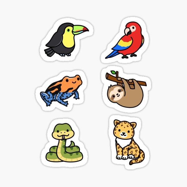 perroquet Sticker