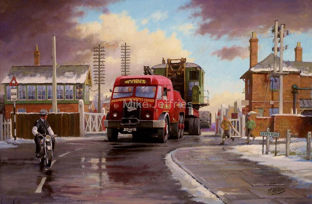 Wynn's Foden Drawbar Tractor. by Mike Jeffries
