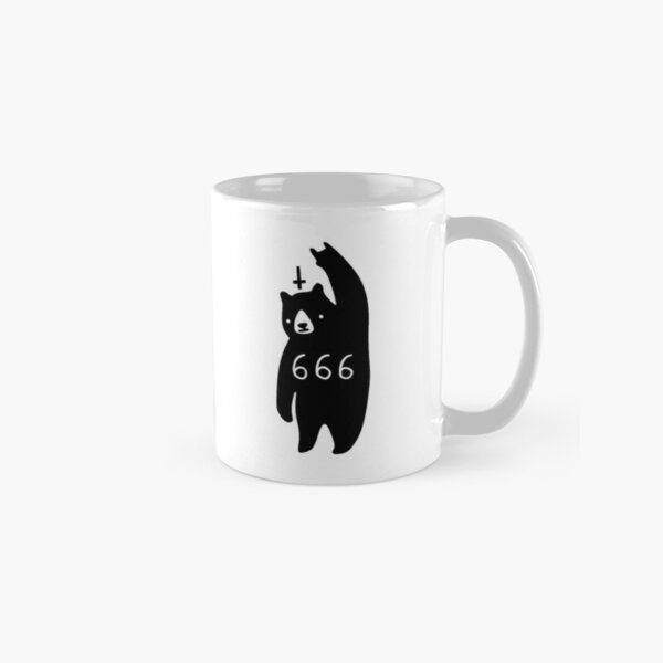 Black Bear Metal Classic Mug