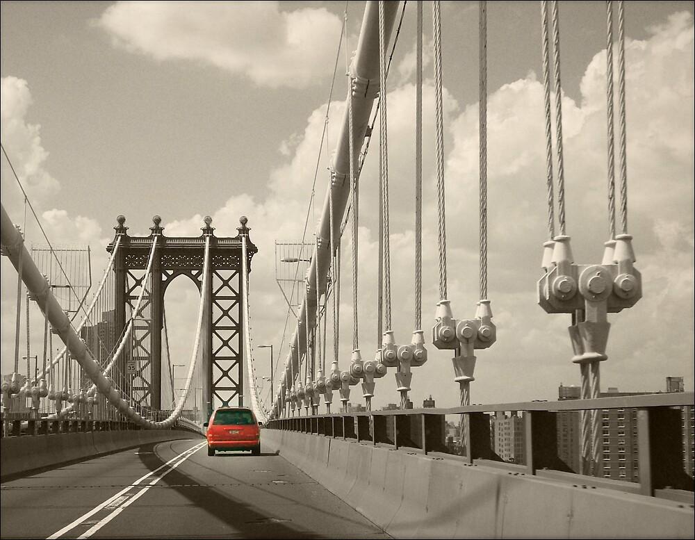 Manhattan Bridge by saripin
