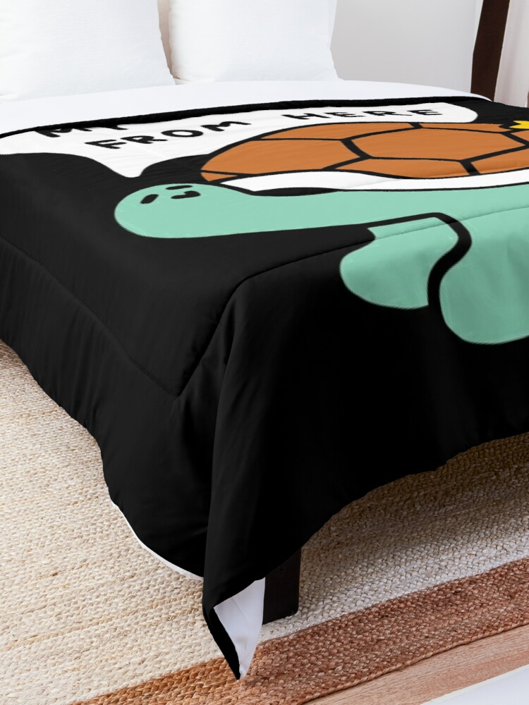 Alternate view of Turtle House Comforter