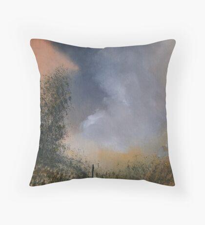 Hidden Cottage Throw Pillow