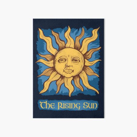 The Rising Sun_Merlin Art Board Print