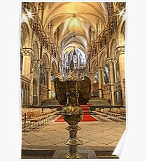 Canterbury Cathedral - Lectern Poster