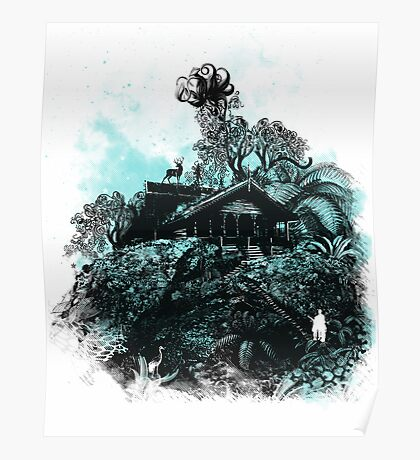little house on the mount Poster