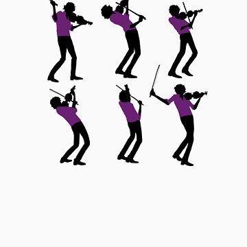 Purple Shirt of Violin by ftwyn