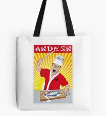 Angry Sashimi Tote Bag